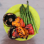 summer grilled veggie platter by woodleywonderworks
