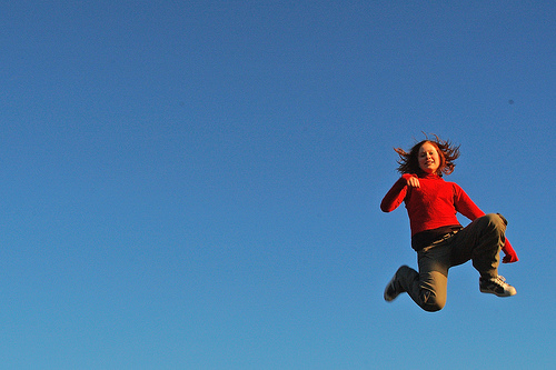 Girl in the sky #2 by Wen Nag